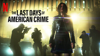 Is The Last Days Of American Crime 2020 On Netflix Italy